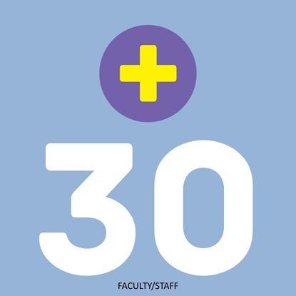 Faculty & Staff 30 Swipe Plan PLUS+ (Fall 2021)