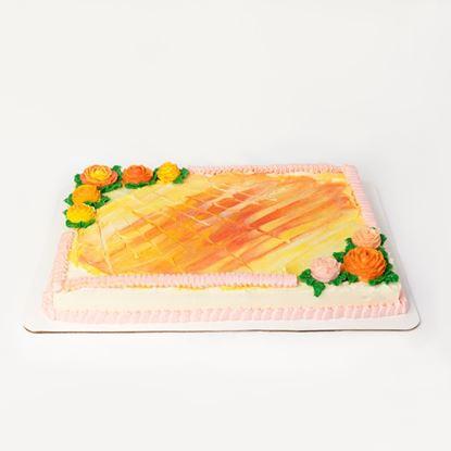 Single Layer Sheet Cake (Cake Tier I)